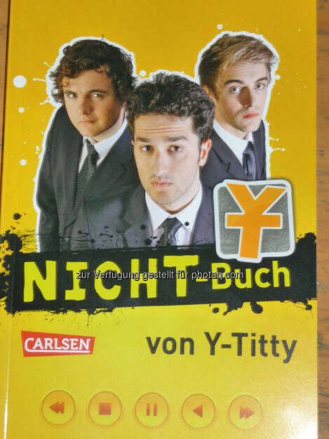 Nicht-Buch Y-Titty gamescom, © Roland Meier (27.08.2013)