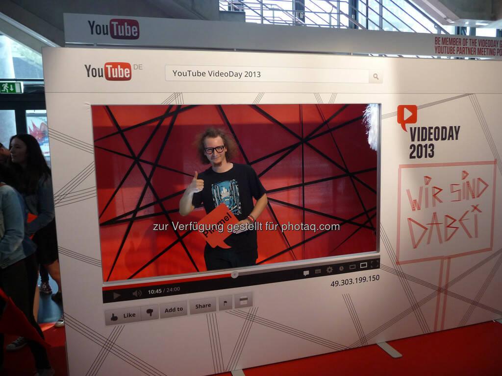 Youtube gamescom, © Roland Meier (27.08.2013)