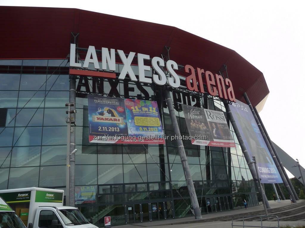 Lanxess Arena gamescom, © Roland Meier (27.08.2013)