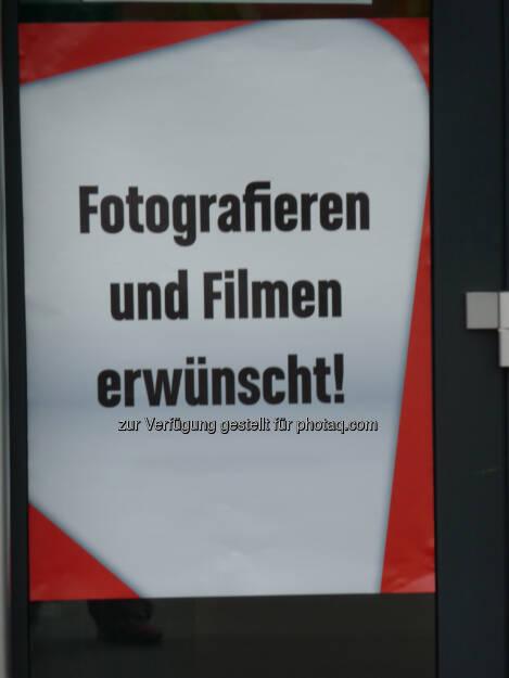 Fotografieren erwünscht gamescom, © Roland Meier (27.08.2013)