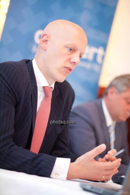 conwert: Johannes Meran (Vorsitzender des Verwaltungsrats), © finanzmarktfoto.at / Michaela Mejta (28.08.2013)