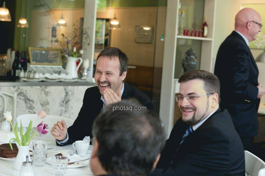 Joachim Brunner (IR-World.com), Richard H. Mayr (CEO Argentuminvest), © Martina Draper (15.12.2012)