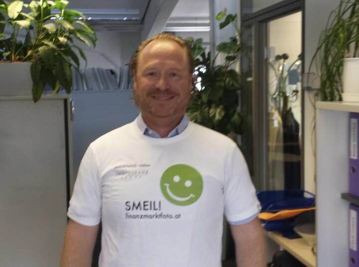 Die Presse Smeil! - Georg Panholzer (Shirt in der Immofinanz-Edition)