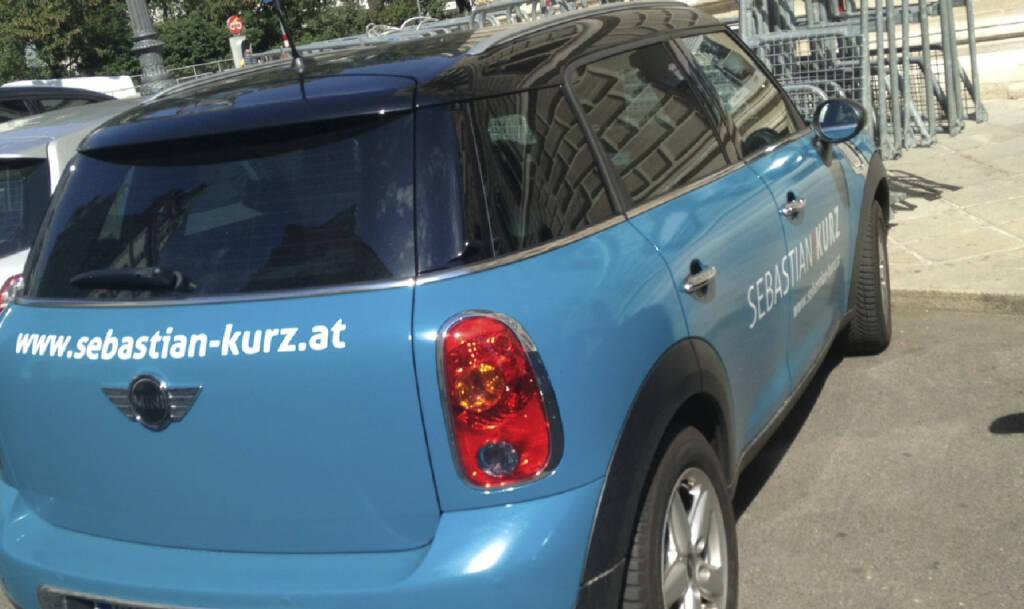 Sebastian Kurz Car (29.08.2013)