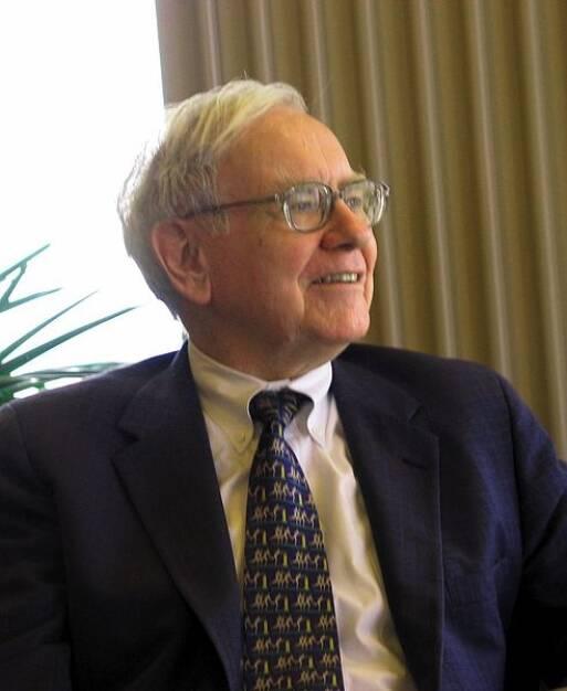 Warren Buffett, Investoren-Legende, Value Investor (30. August) - finanzmarktfoto.at wünscht alles Gute!  http://commons.wikimedia.org/wiki/File:Warren_Buffett_KU_Visit.jpg, © entweder mit freundlicher Genehmigung der Geburtstagskinder von Facebook oder von den jeweils offiziellen Websites  (31.08.2013)