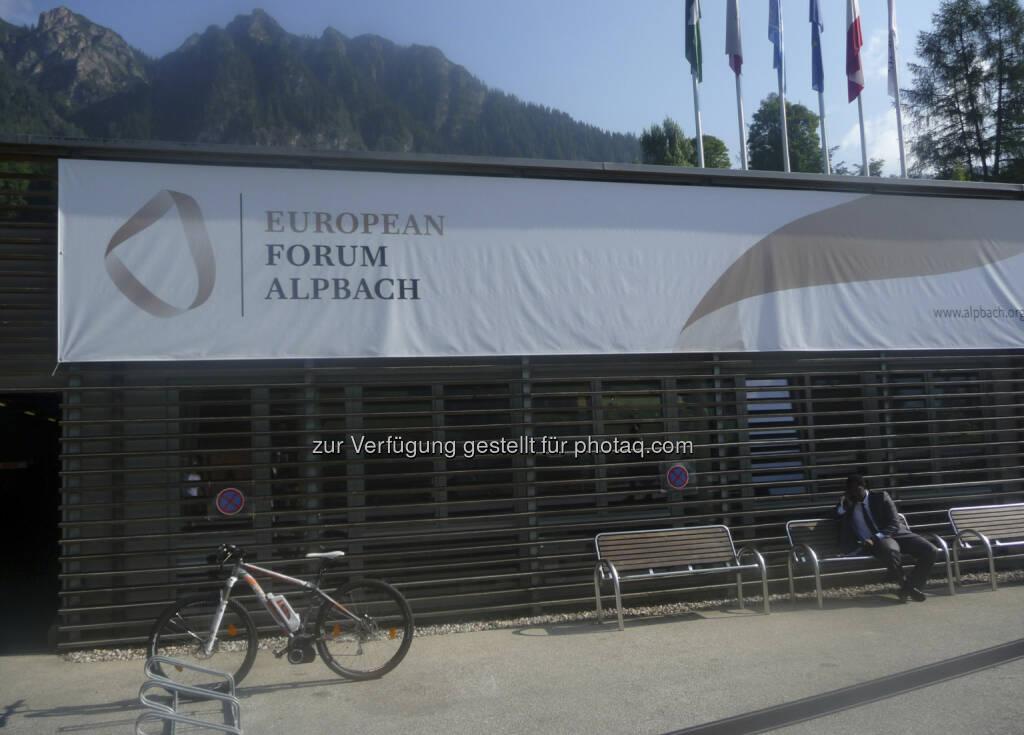 European Forum Alpbach 2013, © Roland Meier (31.08.2013)