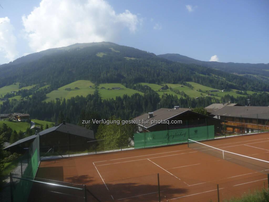 Alpbach 2013, Tennisplatz, © Roland Meier (31.08.2013)