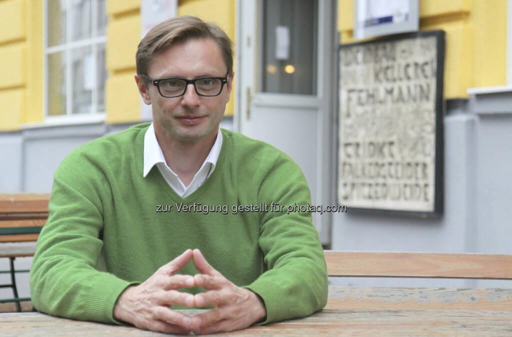 Andreas Kern, Gründer wikifolio.com, fotografiert für das Fachheft 12, http://www.christian-drastil.com/fachheft12 (c) wikifolio (01.09.2013)