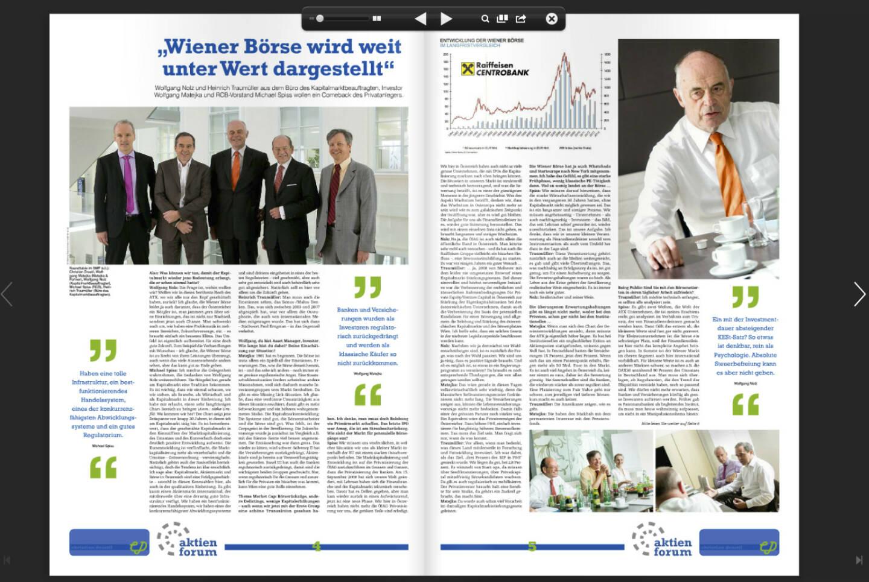 Seiten 4/5: Wiener Börse wird weit unter Wert dargestellt