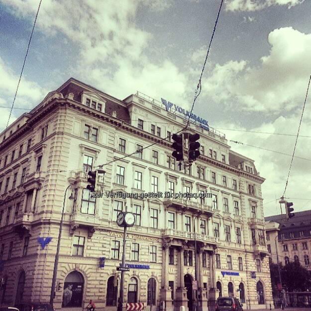 Volksbank, © Wolfgang Wildner (04.09.2013)