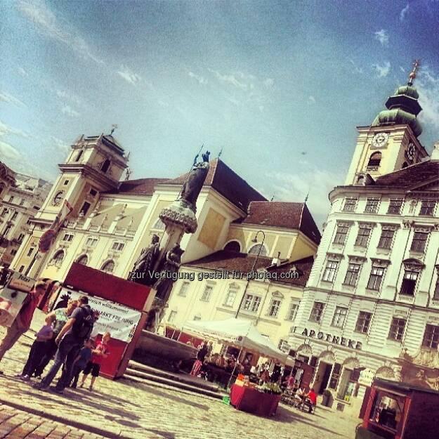 Wien, Neuer Markt, © Wolfgang Wildner (04.09.2013)