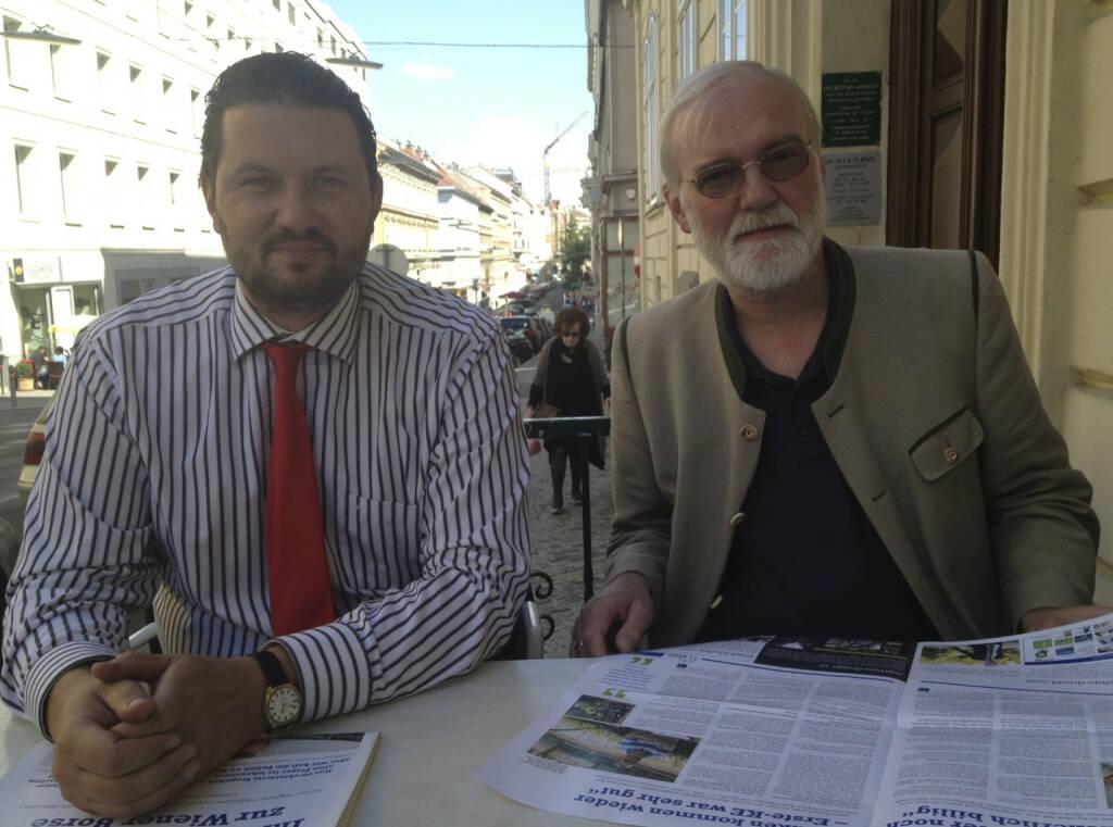 ... im Talk mit Klaus Schweinegger und Marius Perger, Börsen-Kurier (05.09.2013)