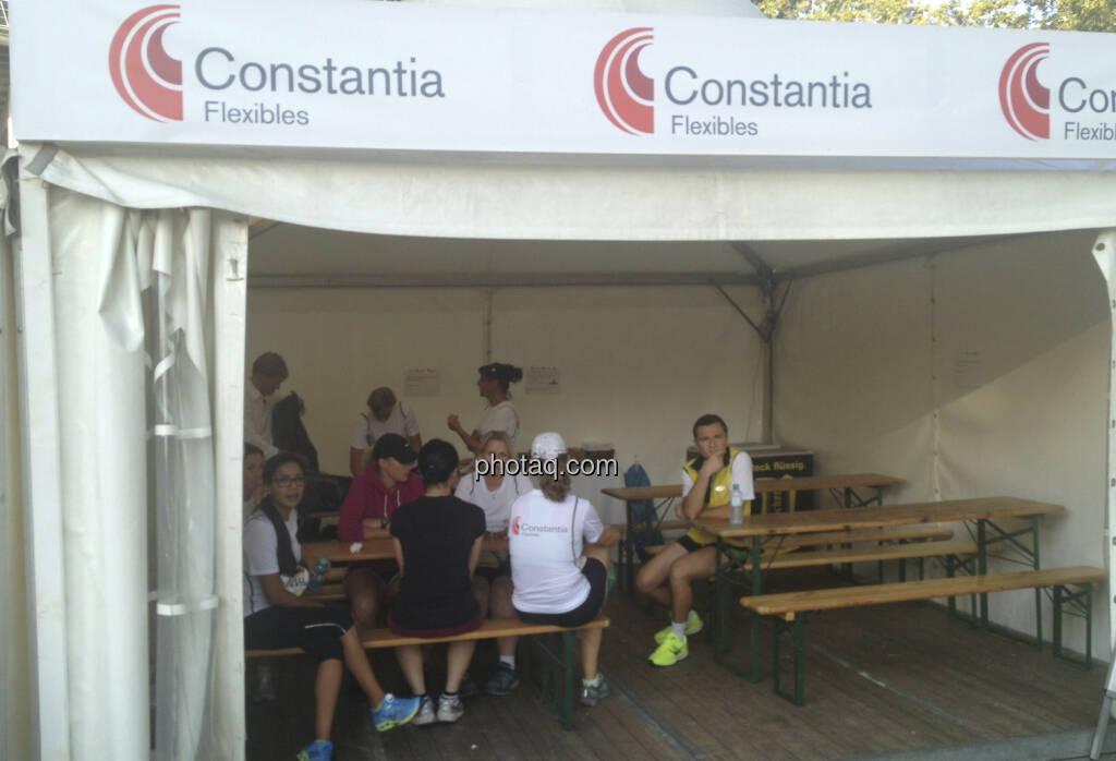 Constantia Flexibles beim Wien Energie Business Run 2013 (05.09.2013)
