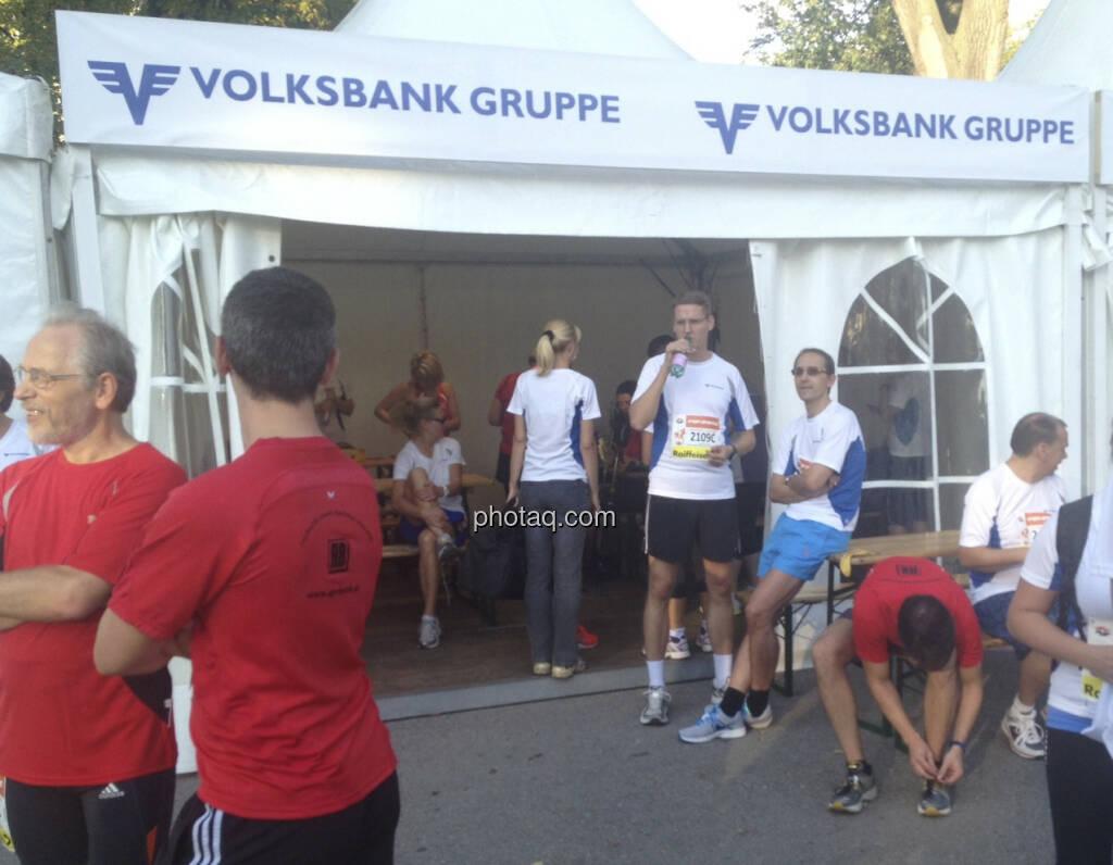 Volksbank Gruppe beim Wien Energie Business Run 2013 (05.09.2013)