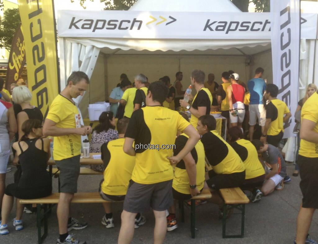 Kapsch beim Wien Energie Business Run 2013 (05.09.2013)