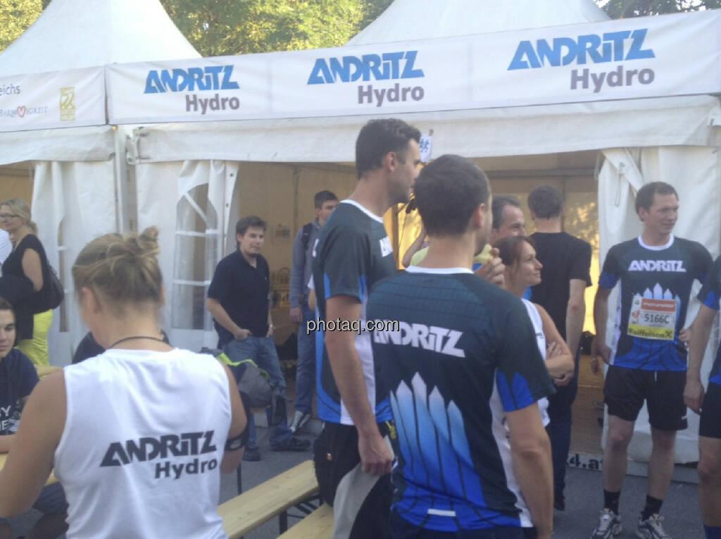 Andritz beim Wien Energie Business Run 2013 (05.09.2013)
