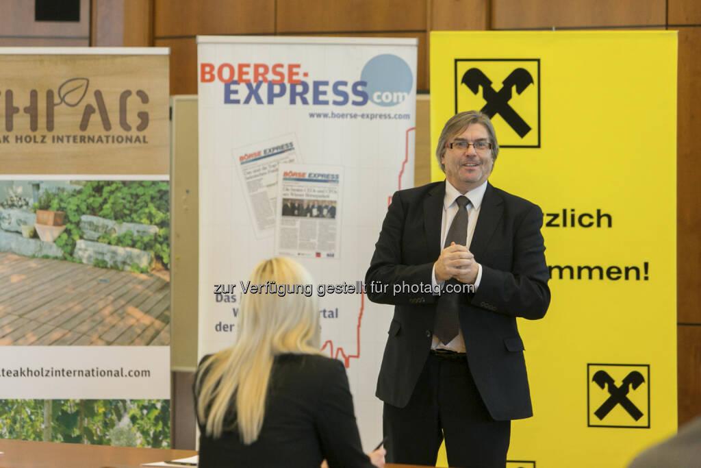 Heinz Brandl (Consulting Wertpapiere RLB Steiermark), © Martina Draper für Börse Express (15.12.2012)