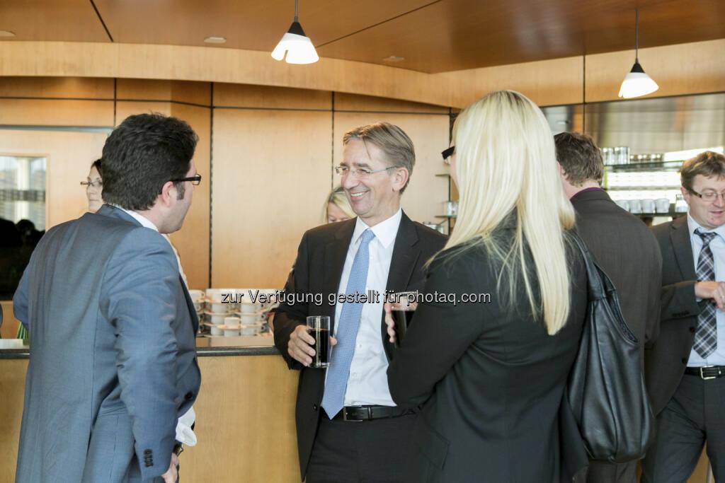 Gerald Wechselauer (Head of IR Amag), Wolfgang Plasser (CEO Pankl), © Martina Draper für Börse Express (15.12.2012)