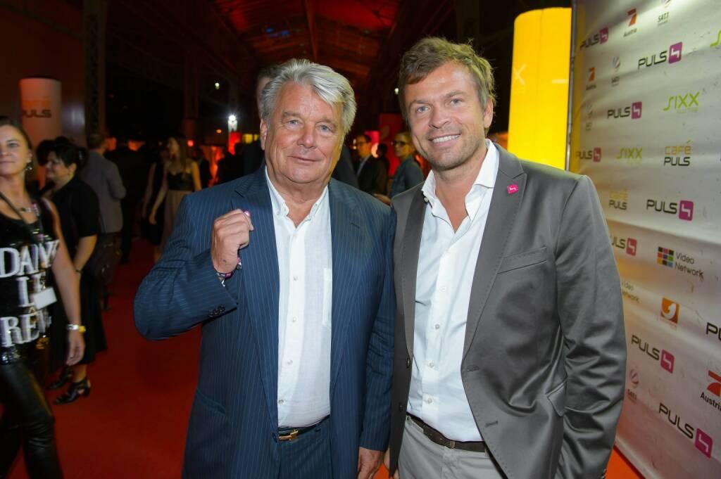 Hans-Peter-Haselsteiner, Markus Breitenecker, (c) Andreas Tischler (06.09.2013)