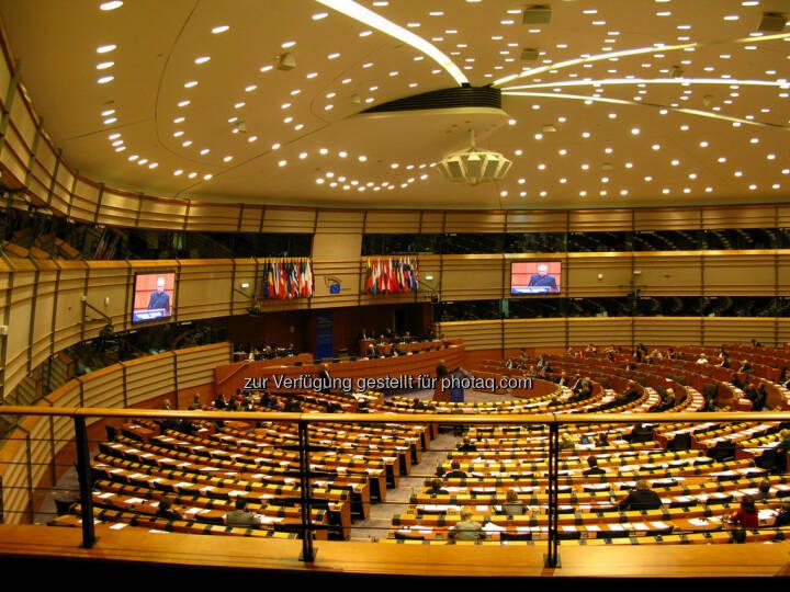 Brüssel, Europaparlament, Plenarsaal