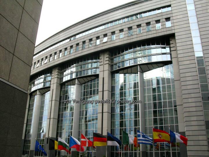 Brüssel, Europaparlament, Gebäudeteil