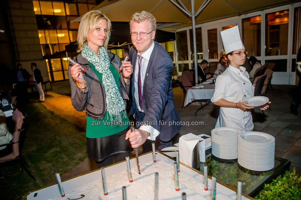Geschäftsführerin Heidi Schuller-Hrusa und Agenturinhaber Peter Aigner, © Aigner PR (10.09.2013)