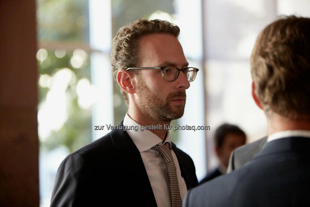 Daniel Folian, Warimpex, beim SRC Research Investorenforum 2013, © Alexandra Repp (10.09.2013)