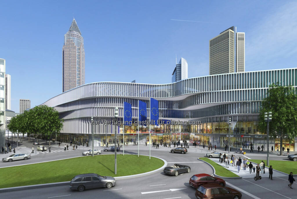 CA Immo: Visualisierung Skyline Plaza (c) CA Immo (15.12.2012)
