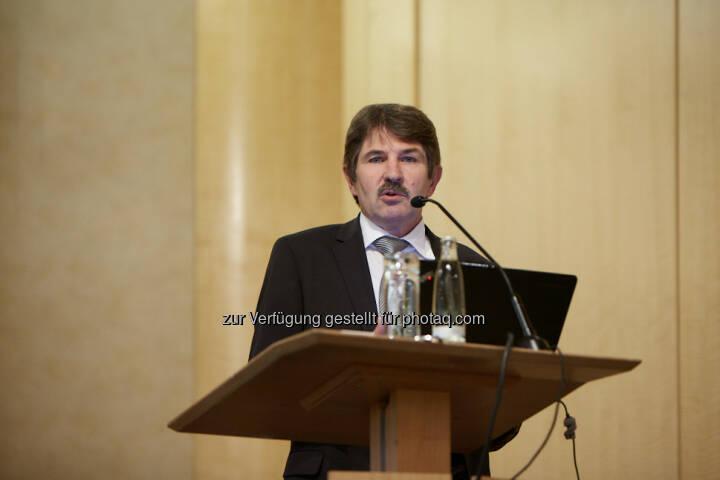 Ernst Vejdovszky, S Immo, beim SRC Research Investorenforum 2013