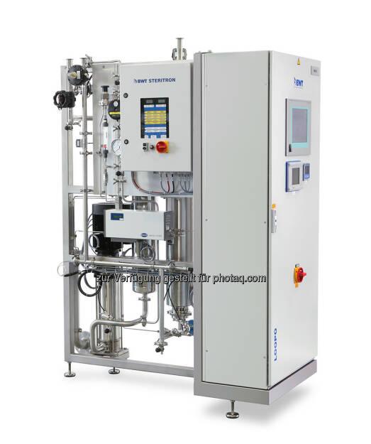 BWT sieht Wasser als den wichtigsten Rohstoff in der Herstellung von Arzneimitteln, Impfstoffen und Kosmetika. Mit dem neuen Pharmawasser-Verteilsystem Loopo sorgt BWT Pharma & Biotech für Hygienesicherheit bei der Bereitstellung von Rein-, Reinstwasser (PW/HPW) sowie Wasser für Injektionszwecke (WFI) im Produktionsprozess (c) BWT  (12.09.2013)