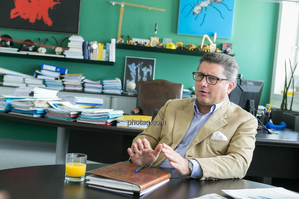 Karl-Heinz Strauss (Porr AG), © finanzmarktfoto.at/Martina Draper (12.09.2013)