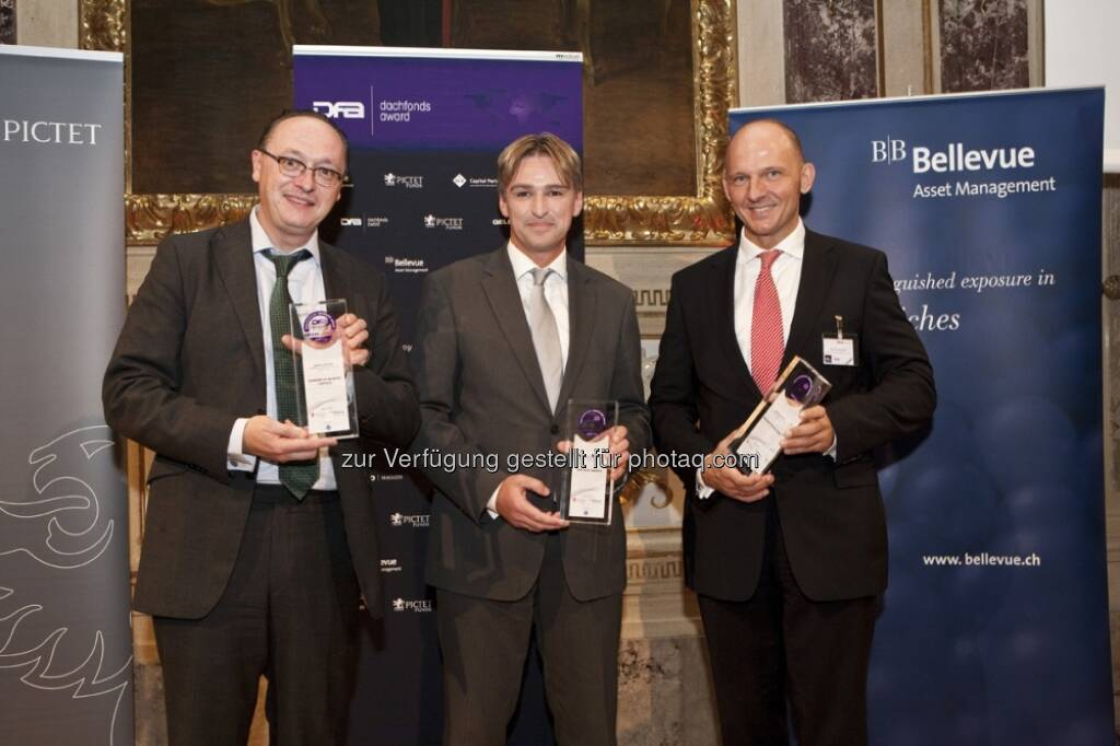 Joachim Nareike, Schroder Investment Mgt., Karl Ruffing, WWK Versicherung, Christian Raudner, Macquarie Investment Mgmt. Austria KAG (15.12.2012)