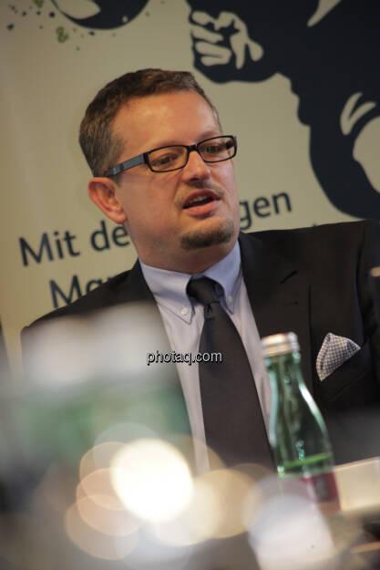 Gerhard Mittelbach, © finanzmarktfoto.at/Michaela Mejta (12.09.2013)