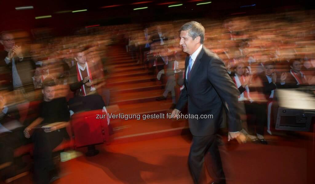 Michael Spindelegger in der Stadthalle (c) ÖVP (17.09.2013)