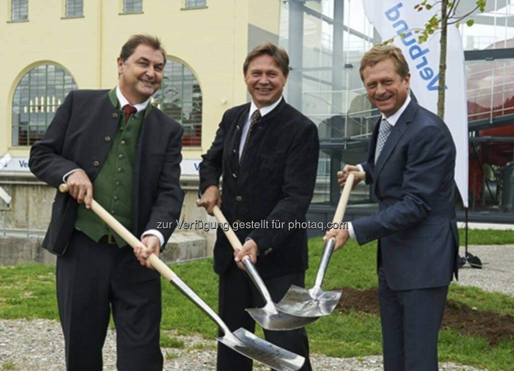 Verbund: Eröffnung des größten Wasserkraftwerks in Pernegg an der Mur - http://www.verbund.com/bg/de/blog/2013/09/17/pernegg-wasserkraftwerk-schauturbine (17.09.2013)