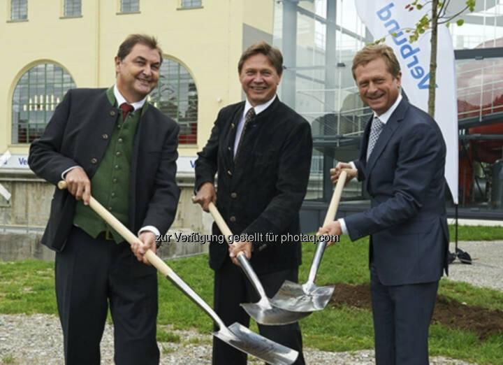 Verbund: Eröffnung des größten Wasserkraftwerks in Pernegg an der Mur - http://www.verbund.com/bg/de/blog/2013/09/17/pernegg-wasserkraftwerk-schauturbine