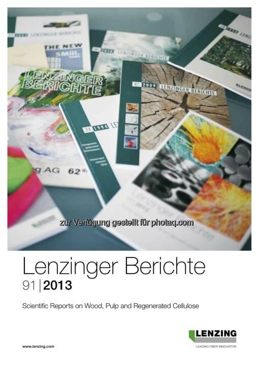 """60 Jahre Lenzinger Berichte – ein Aushängeschild der Lenzinger Innovation feiert Geburtstag. Die Lenzinger Berichte sind die weltweit einzige Firmenpublikation, die in den """"Chemical Abstracts"""" (dem weltweit wichtigsten Auswertungsdienst für Originalquellen der Chemieliteratur) gelistet ist (c) Lenzing"""