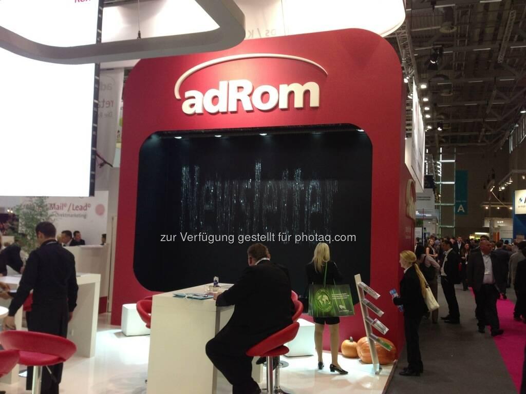 Dmexco Köln 2013: adRom (19.09.2013)