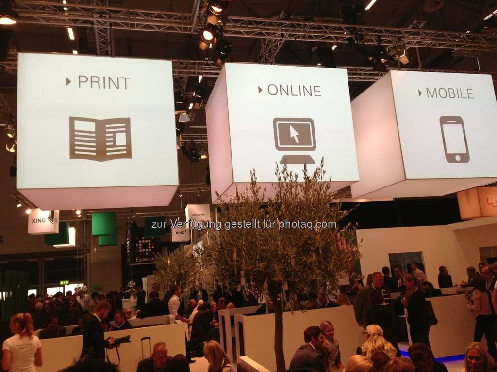 Dmexco Köln 2013: Print Online Mobile (19.09.2013)