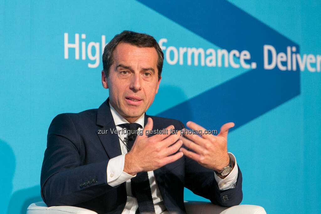 Christian Kern (ÖBB-Holding AG), © Accenture GmbH/APA-Fotoservice/Draper (19.09.2013)