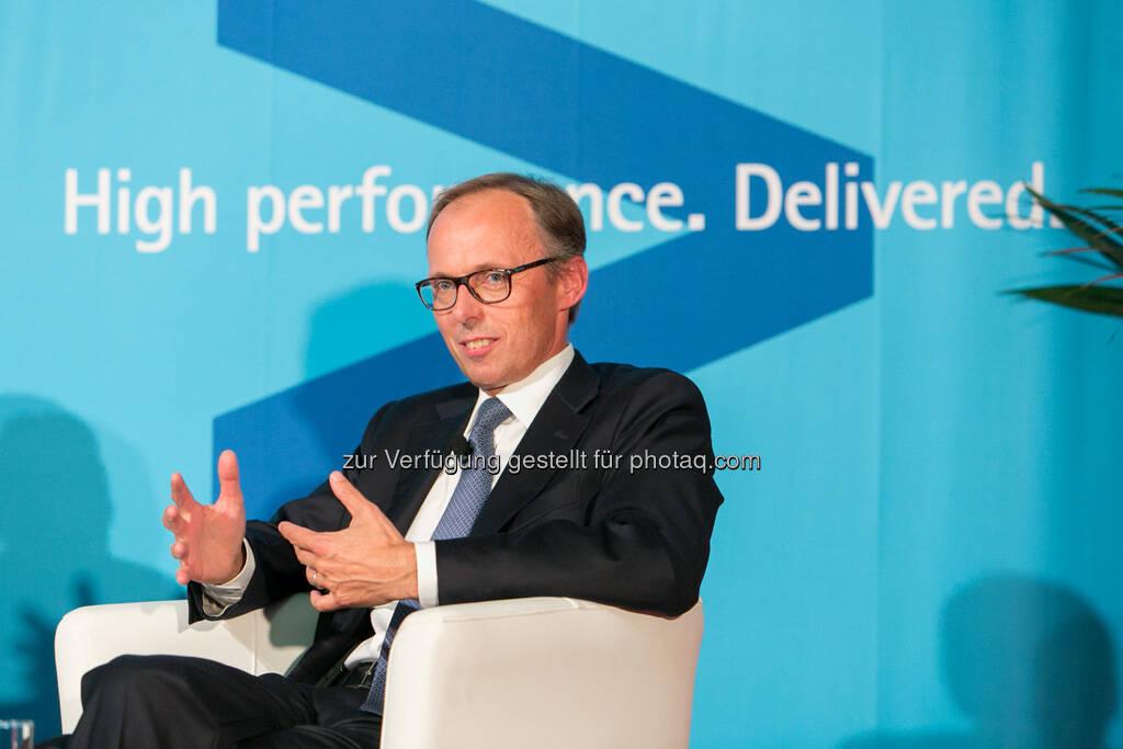 Klaus Malle (Accenture Österreich), © Accenture GmbH/APA-Fotoservice/Draper (19.09.2013)