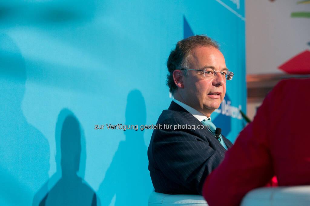 Heimo Scheuch (Wienerberger AG), © Accenture GmbH/APA-Fotoservice/Draper (19.09.2013)